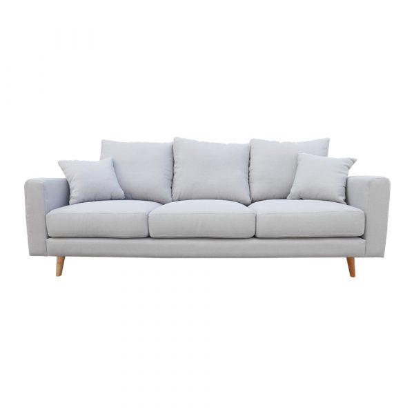 Scott 3s Sofa Light Grey Moredesign Com